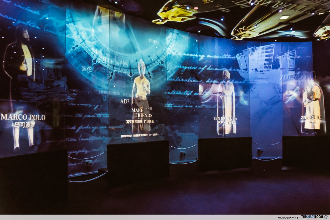Revamped Maritime Experiential Museum - Holographic Gallery