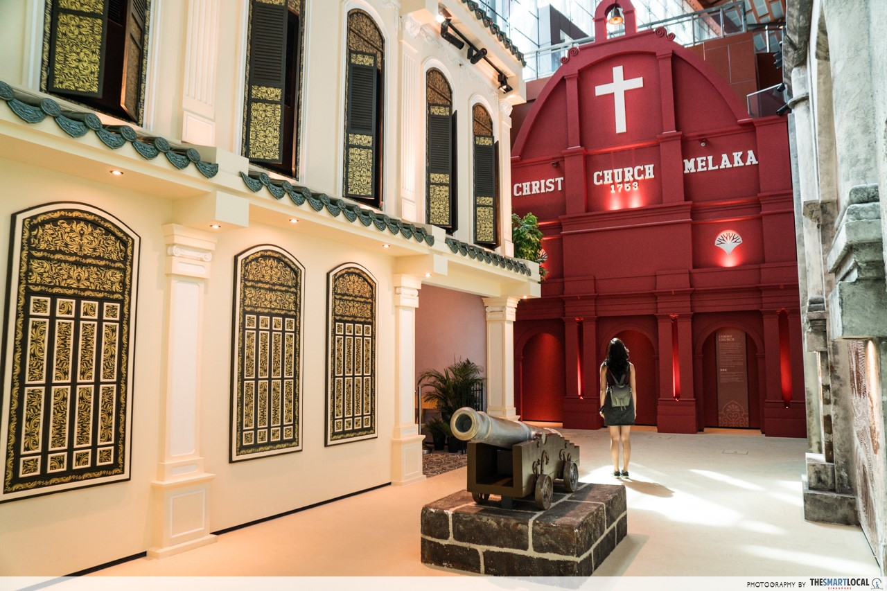 Revamped Maritime Experiential Museum - Christ Church Malacca