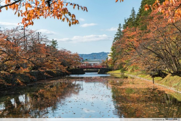 The scenic landscapes of Yamagata