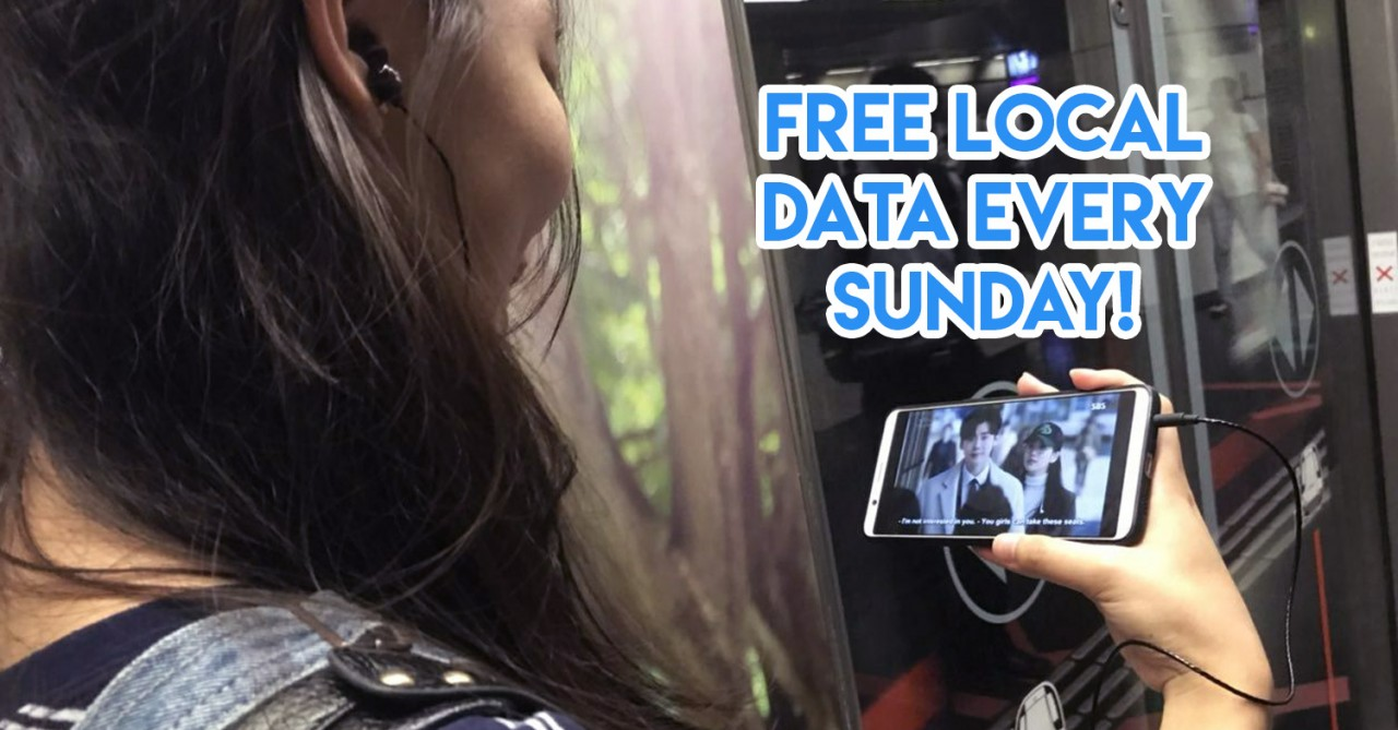 Singtel Circle Free Data on Sundays