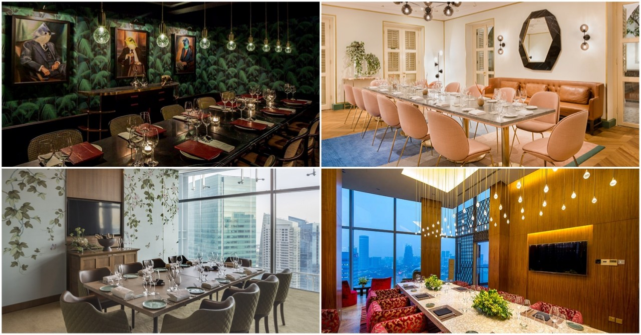 Best Private Dining Rooms In Singapore