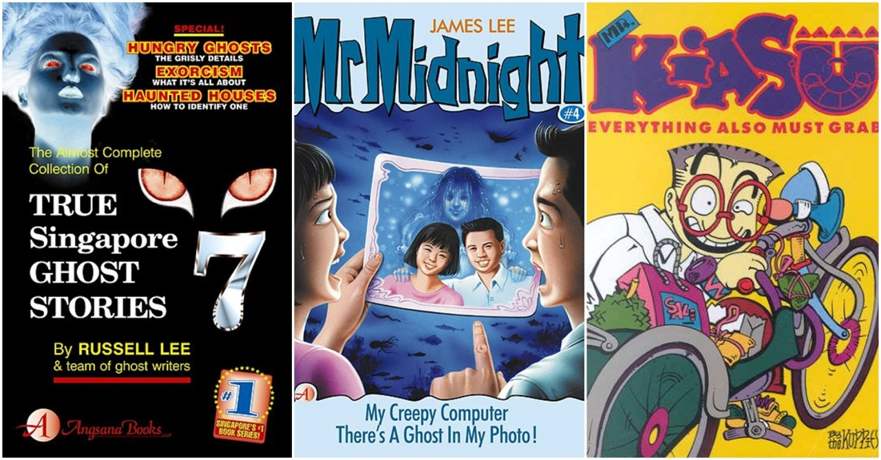 6 Forgotten Books & Magazines Every Singaporean Student Brought To School For Silent Reading