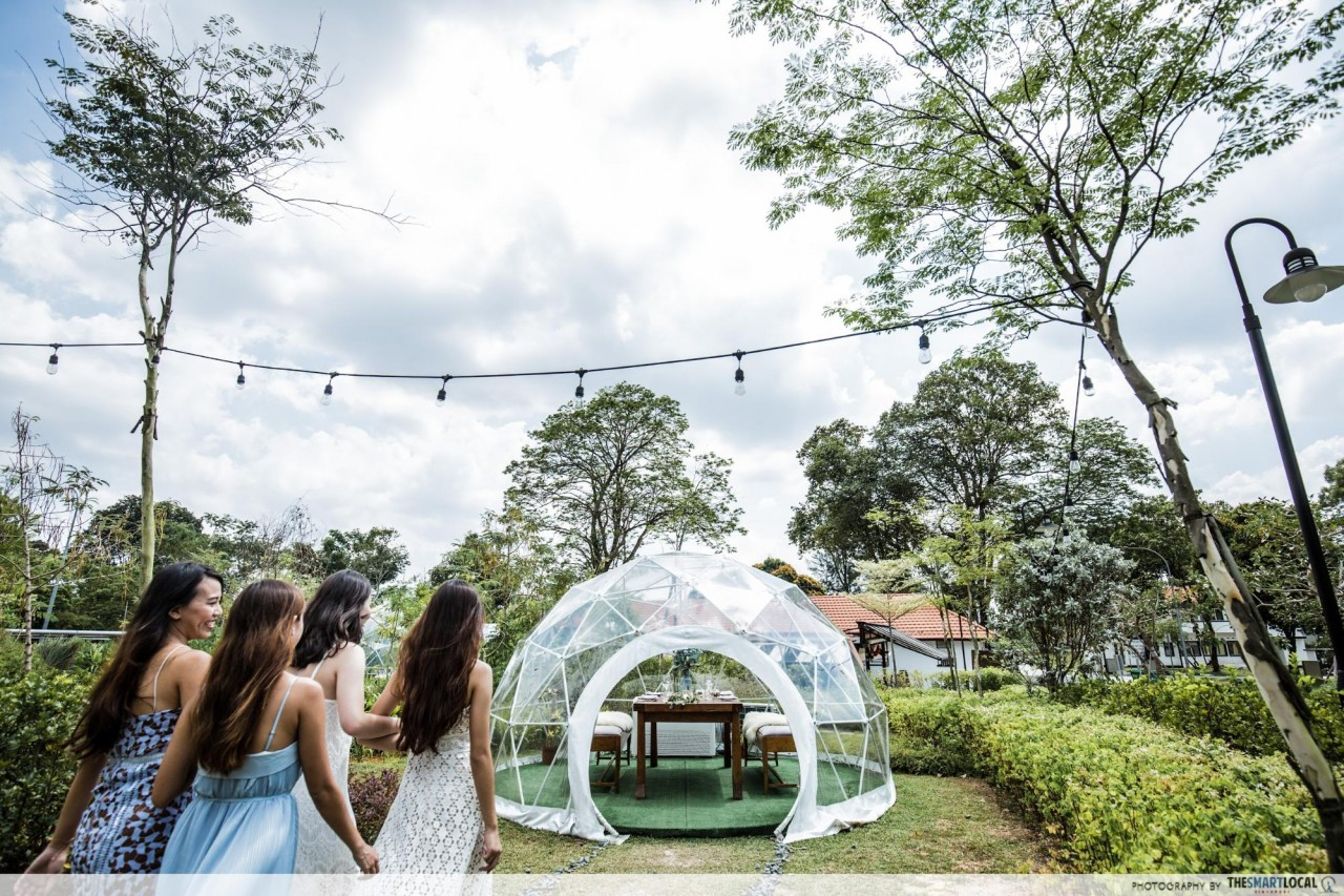 8 Garden Party Venues In Singapore For Mini-Celebrations From Baby Showers to Hen Parties