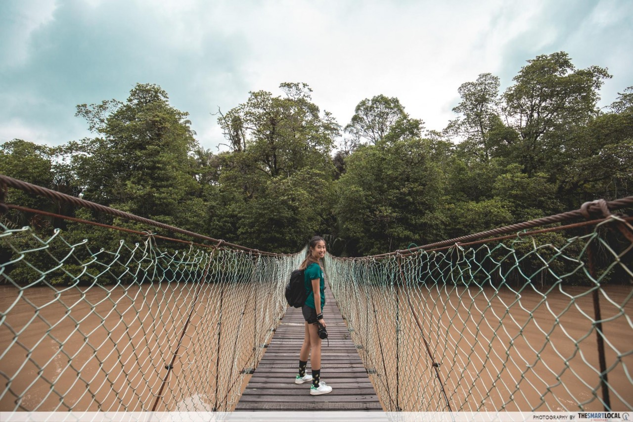 Bintulu - suspension bridge