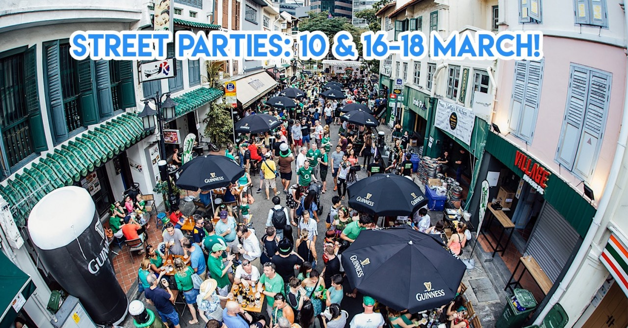 Guinness Is Throwing St. Patrick's Day Parties On These Bar Streets Over 2 Weekends In March