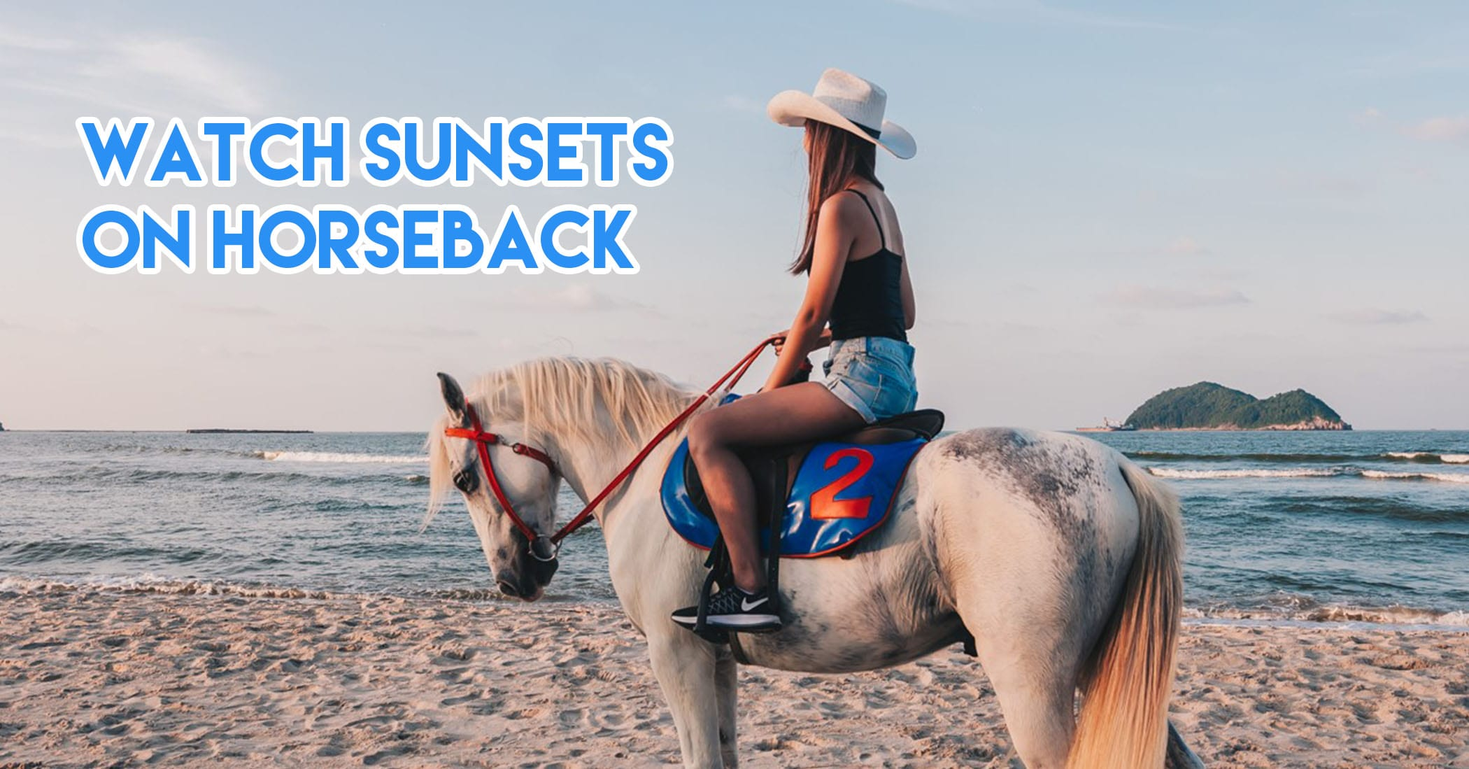 hat yai - watch sunsets on horseback