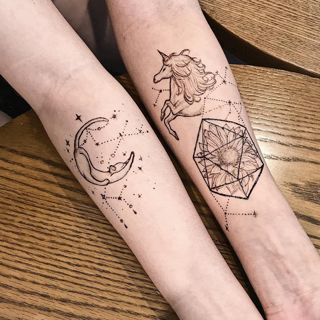 Jagua Tattoo: 6 Painless & Non-Permanent Tattoo Alternatives In