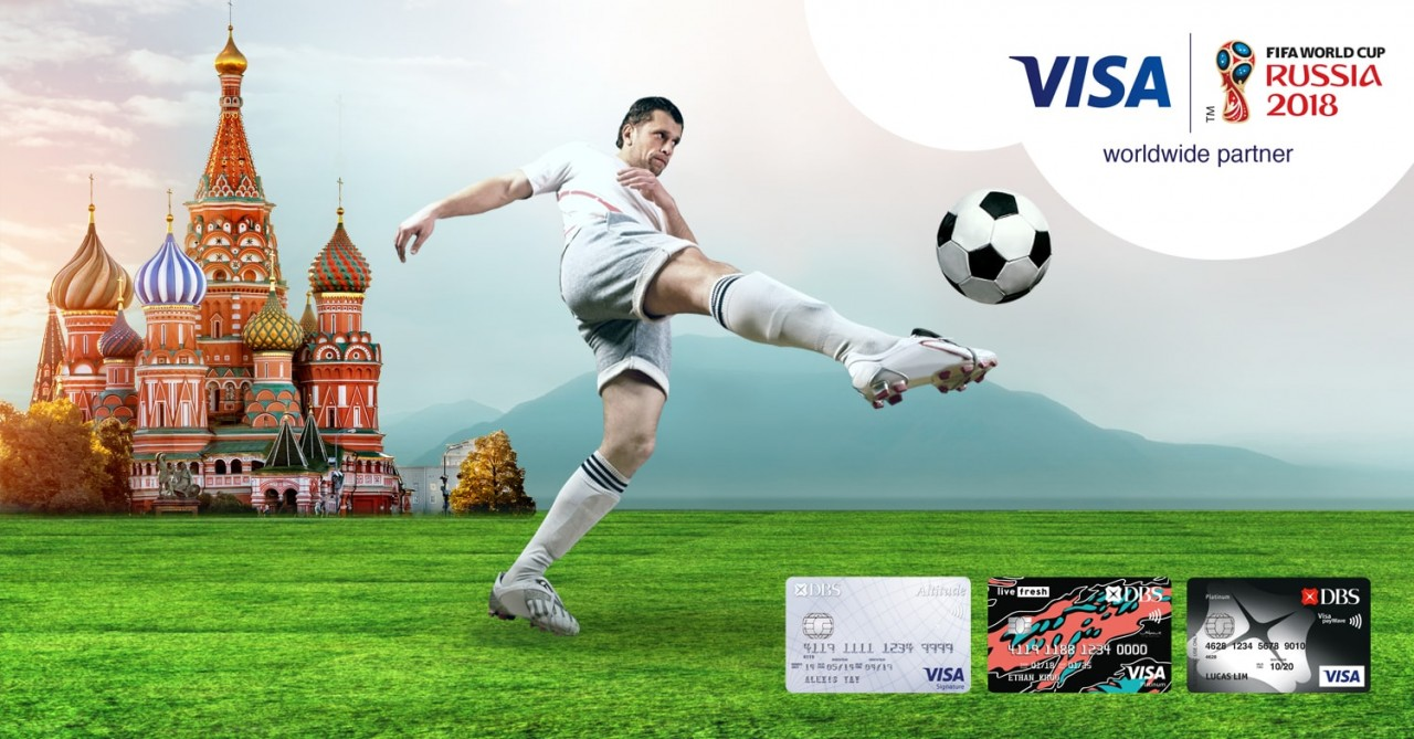 2018 FIFA World Cup Russia - DBS Visa Card