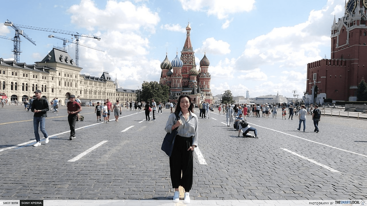 2018 FIFA World Cup Russia - Moscow red square