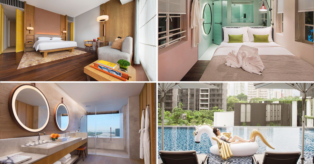 9 New Hotels In Singapore In 2018 For The Latest Staycation Spots From $90/Night
