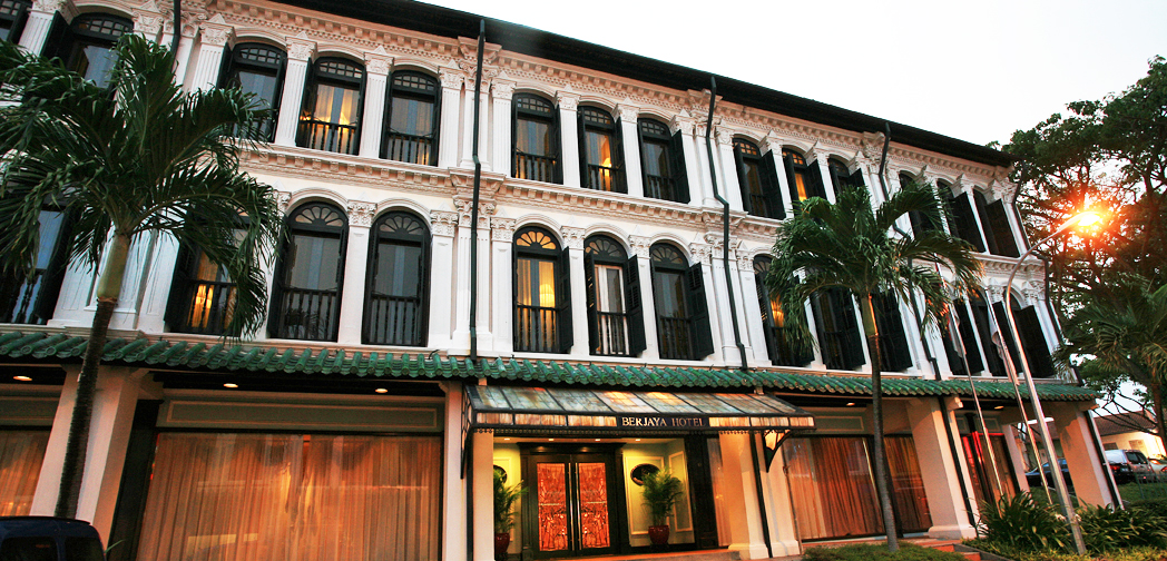 The Duxton Club exterior