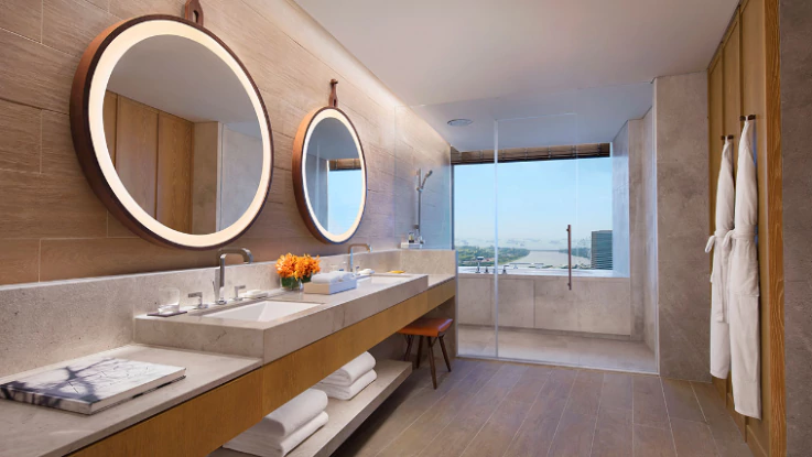 Andaz Singapore Studio Suite bathroom