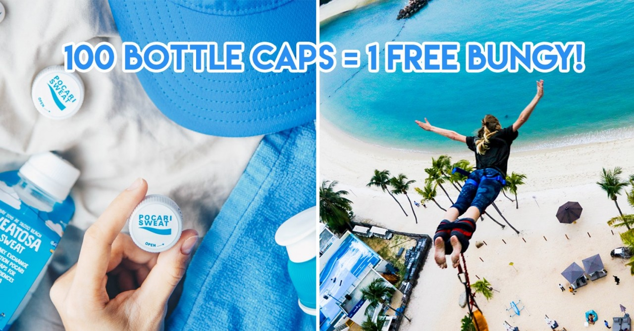 SWEATOSA - Students Can Now Exchange Bottle Caps For Sentosa Activities Like AJ Hackett & MegaZip