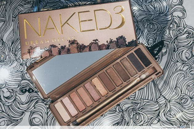 iShopChangi Urban Decay Naked 3 Eyeshadow Palette