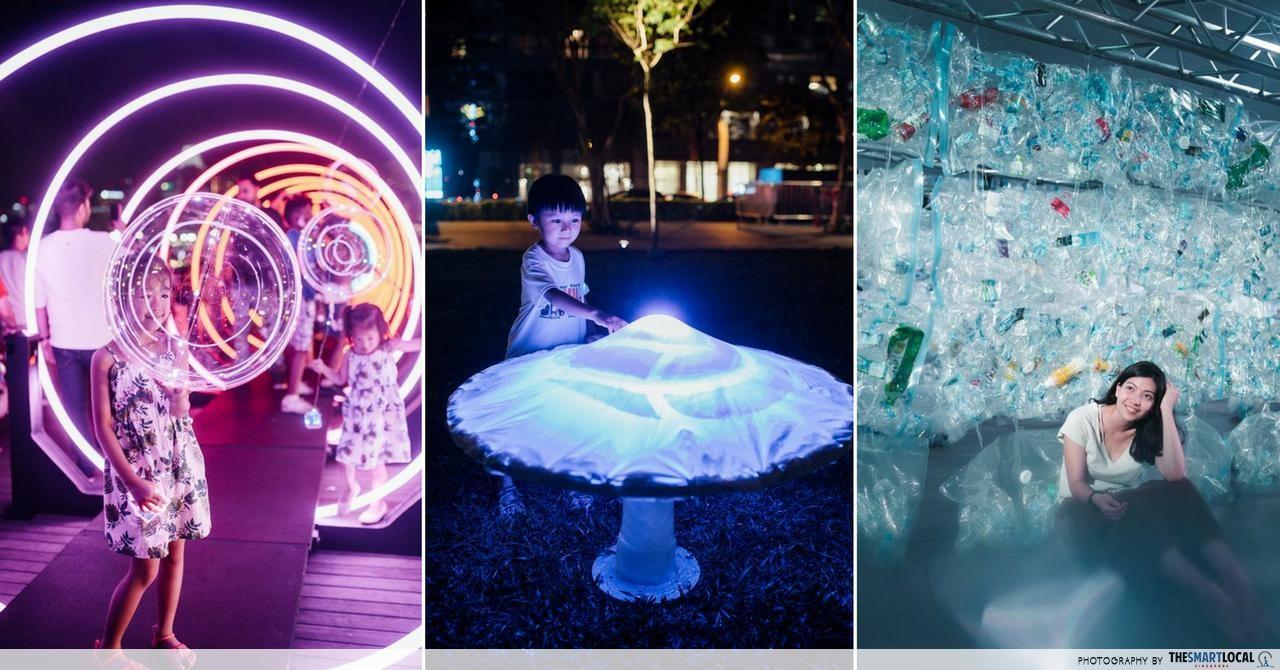 i Light Marina Bay 2018 Has Neon Facades And 22 Light Installations