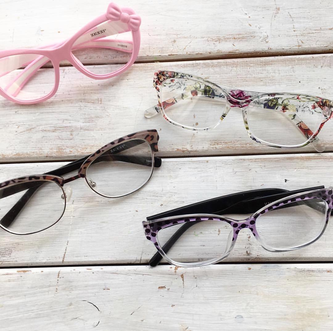 zenni optical variety of frames designs