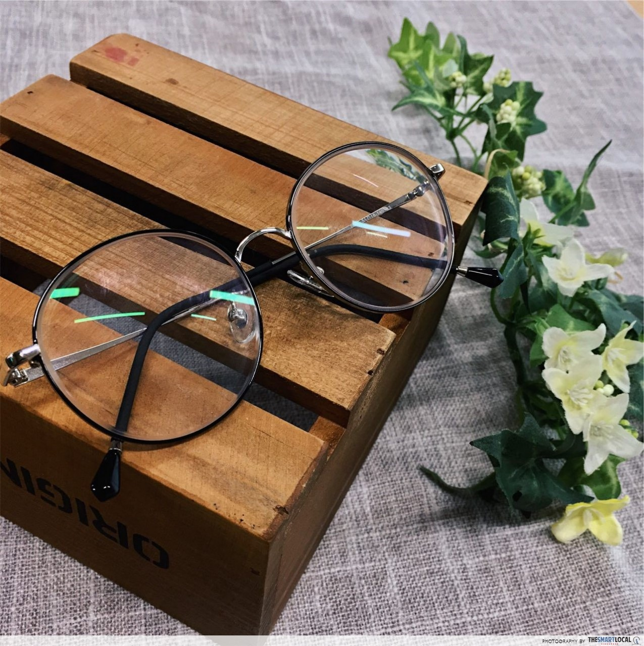 spectalk frame lenses $45 korean style