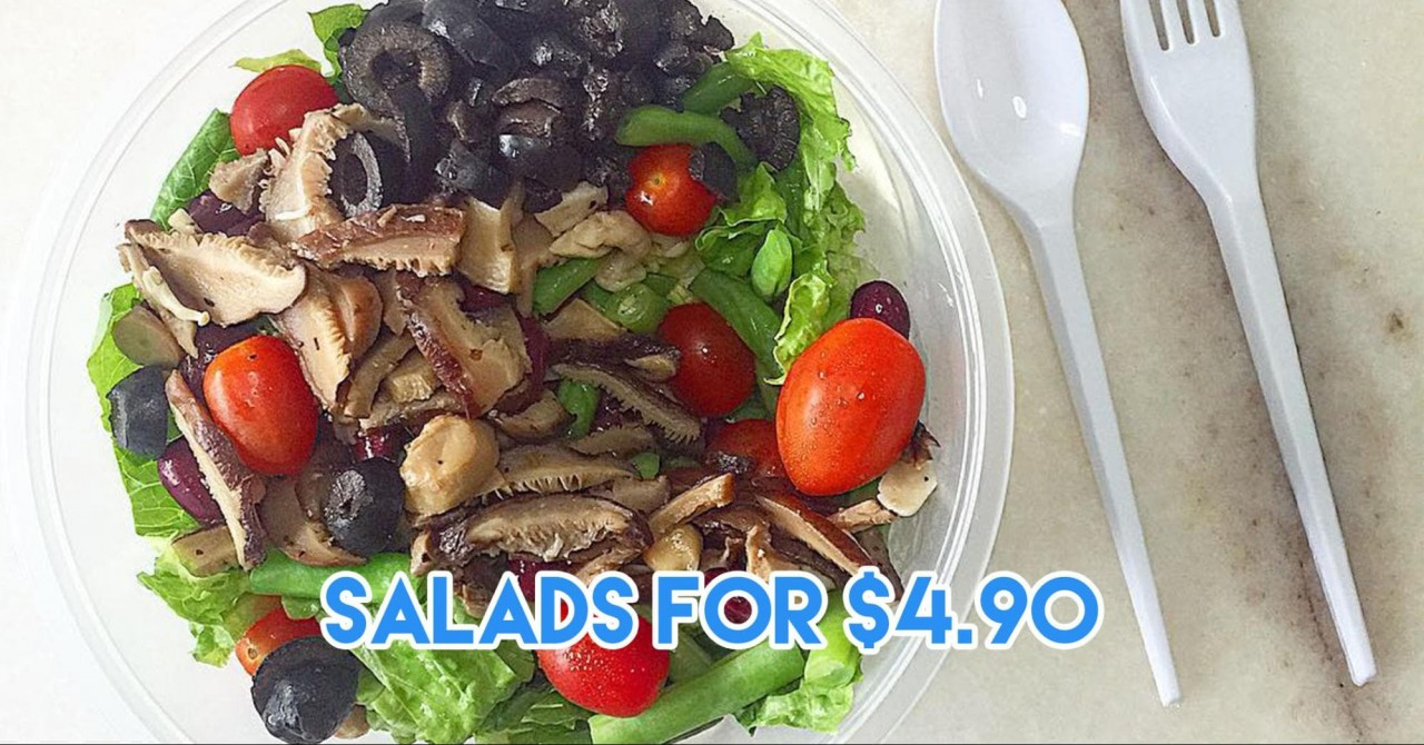 Cheap Salads in Singapore