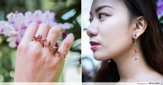 Swarovski's Nature-Inspired Spring Collection - 4 Styling Tips For Necklaces, Earrings & Arm Candy