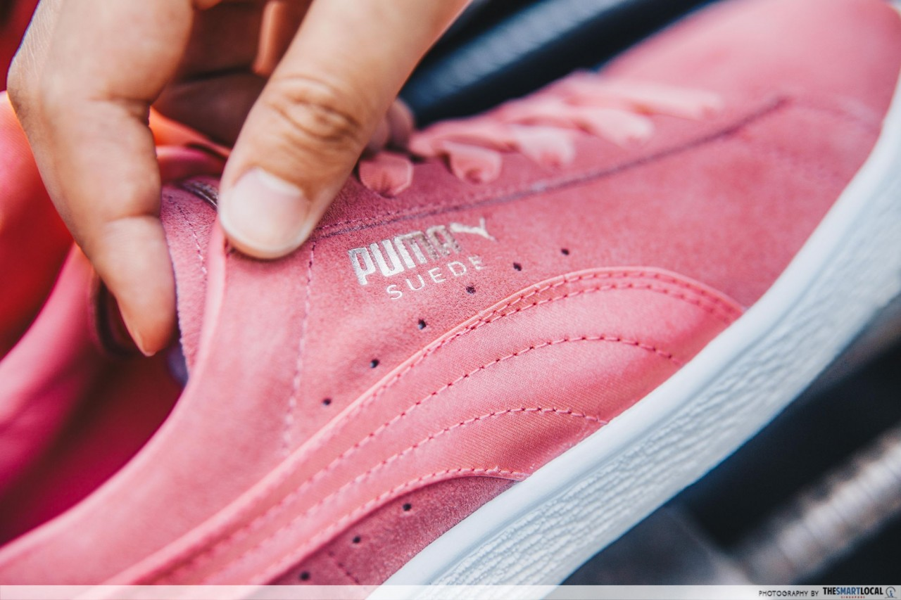 11f34b11715f You Can Get PUMA s New Suede Bow At This Pop-Up Truck 1 Month Before ...