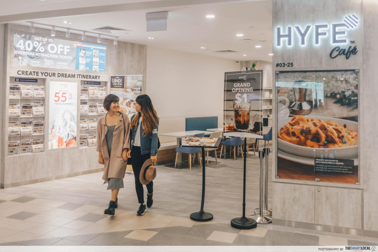 Hyfecafe entrance