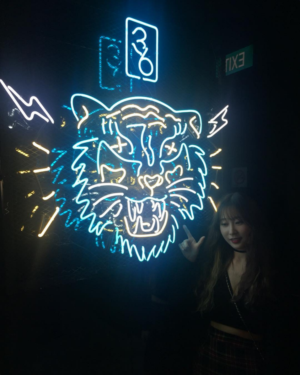 36-Korean-clubbing-experience-tiger-neon-lights