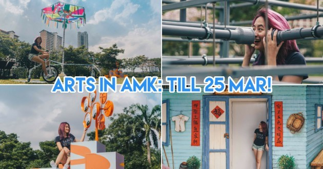 Ang Mo Kio Is Having An Arts Fest With A Carpark Carnival, Pop Up Playgrounds & Live Performances