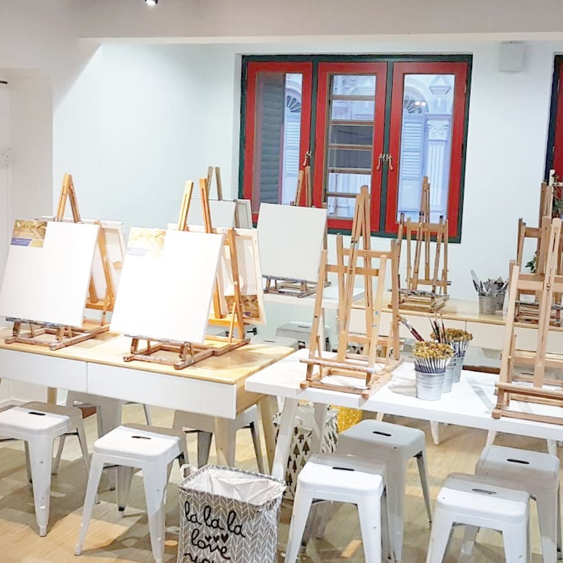 48 Art Jamming Studios In Singapore With Sessions From 48 Inclusive Magnificent Restaurant Furniture For Less Painting