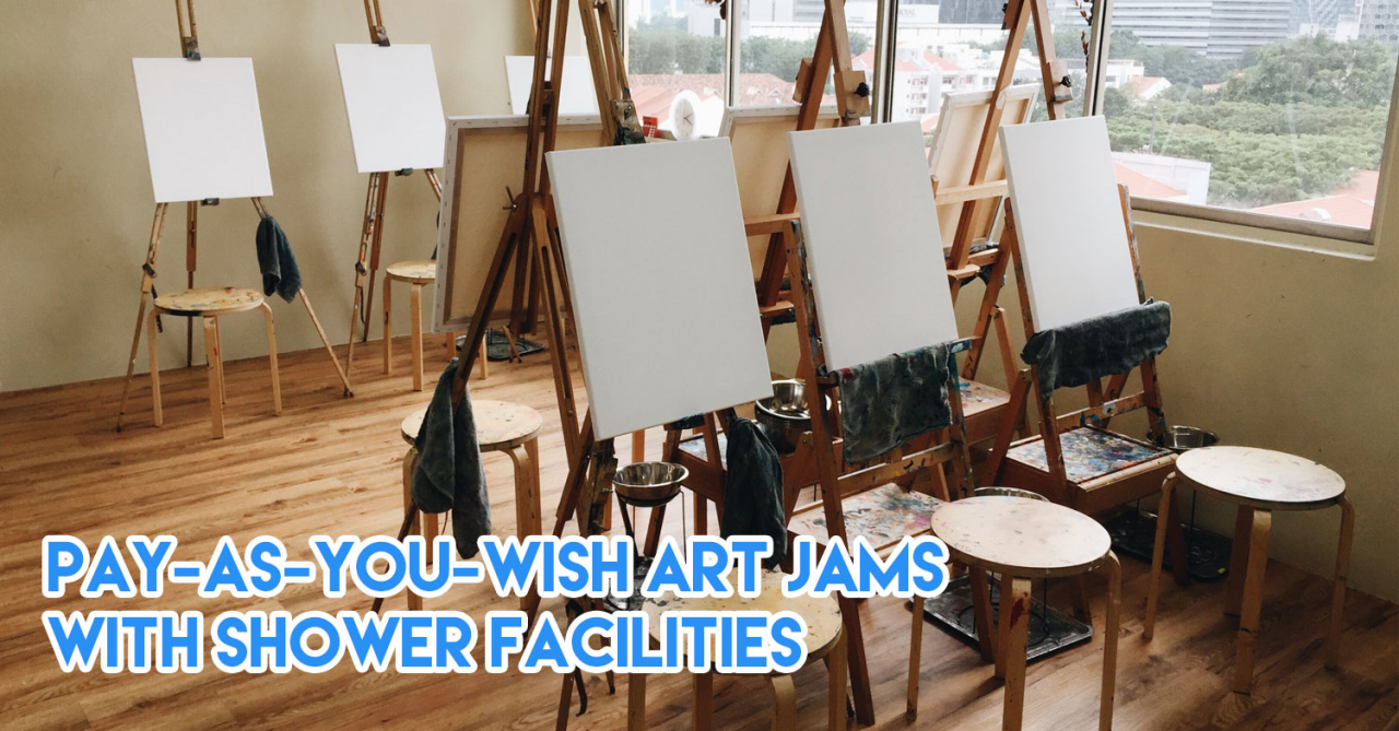 10 Art Jamming Studios In Singapore With Sessions From $30 Inclusive Of Canvas & Paint