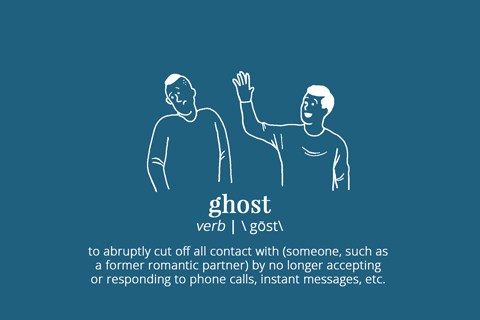 definition of ghosting