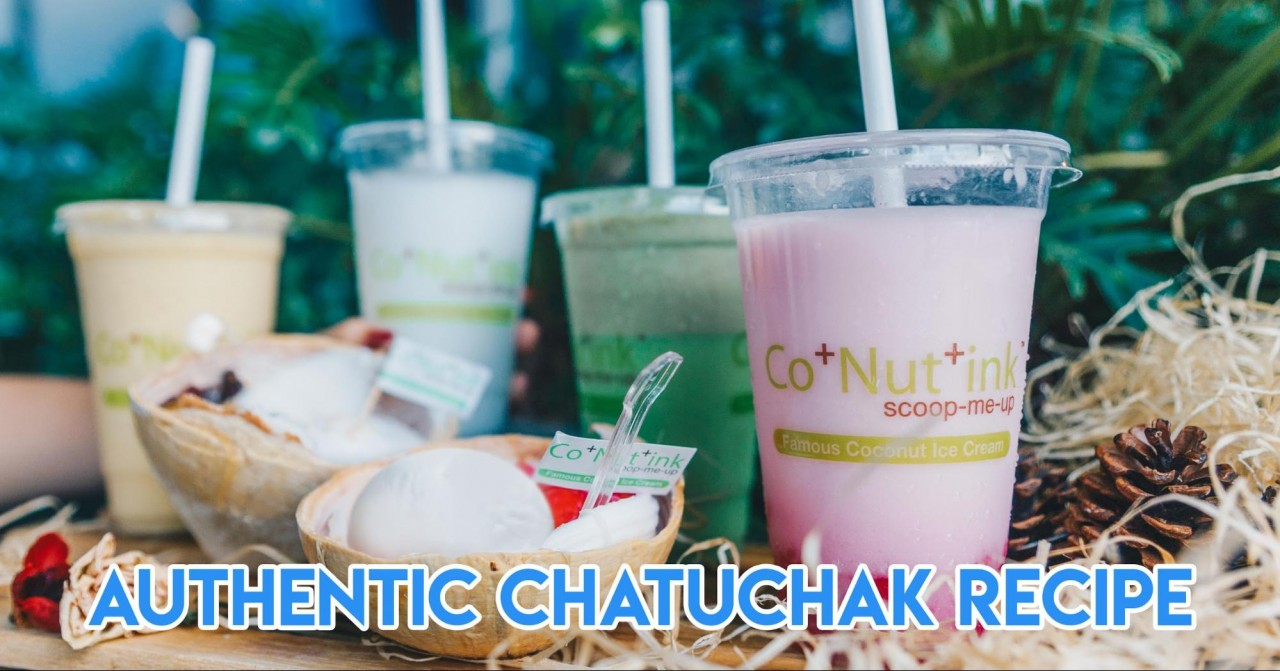 conutink chatuchak coconut ice cream authentic