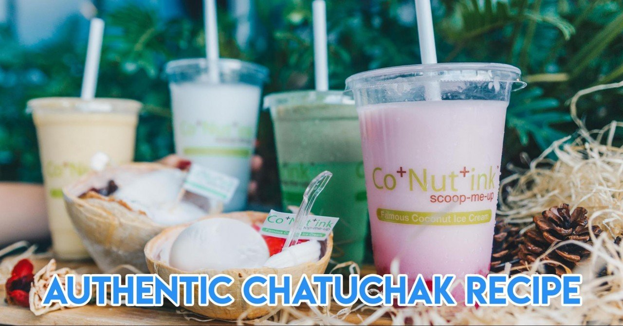 Co+Nut+Ink - Chatuchak's Secret Coconut Ice-Cream & Drinks Recipe Is Now Available At Somerset
