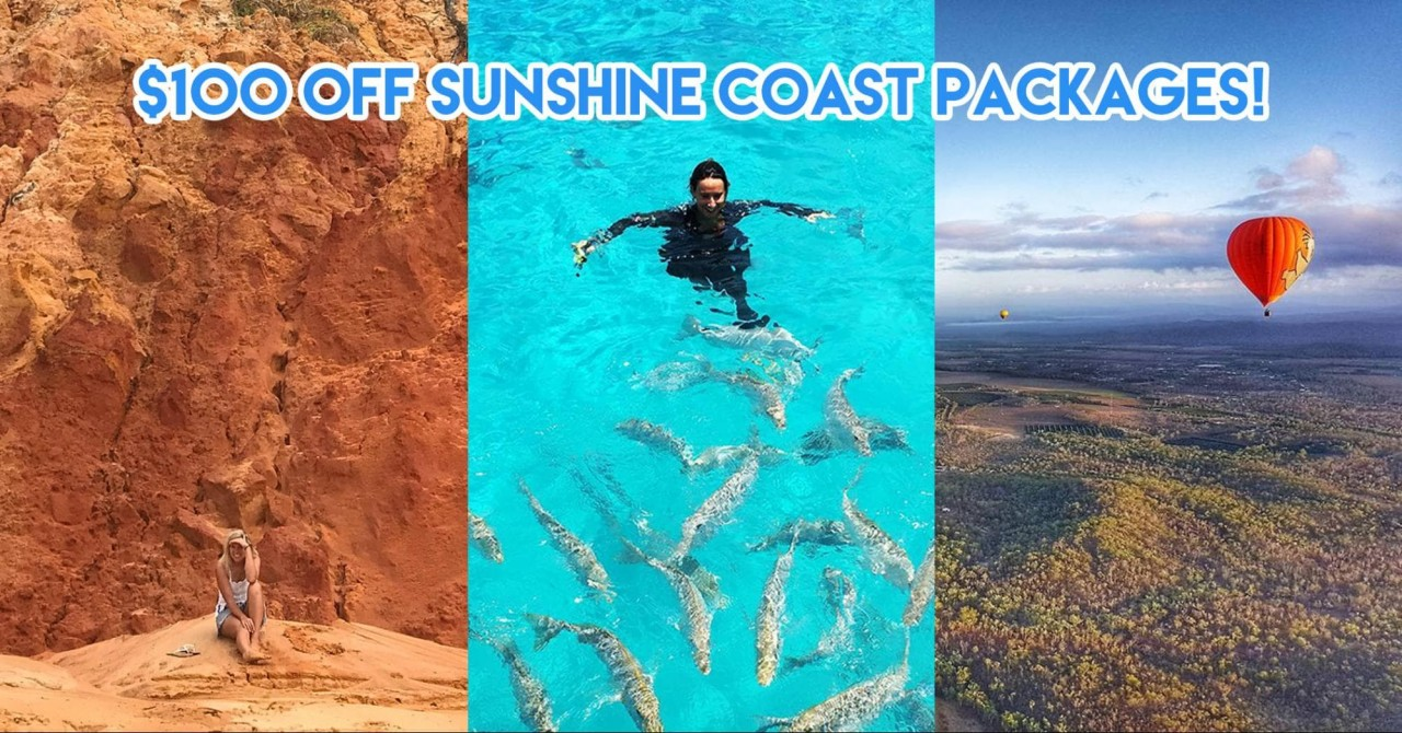 This Promo Code Takes $100 Off Your Next Aussie Trip To Sunshine Coast