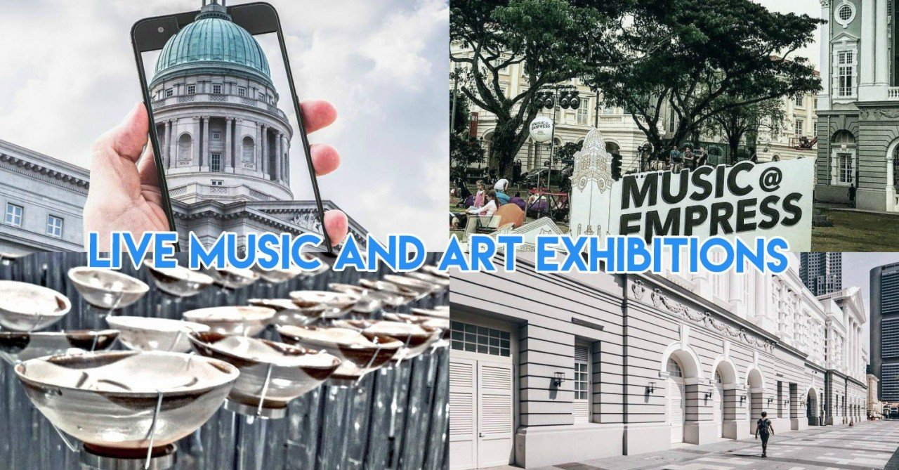 Singapore's Art District Will Be Hosting Live Performances & Free Exhibitions Every Last Week Of The Month