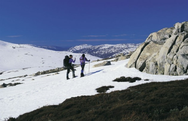 Skiing in Kosciuszko National Park