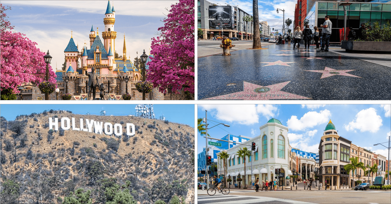 20 Places You Can Visit In Los Angeles Via United Airlines' Nonstop Flight