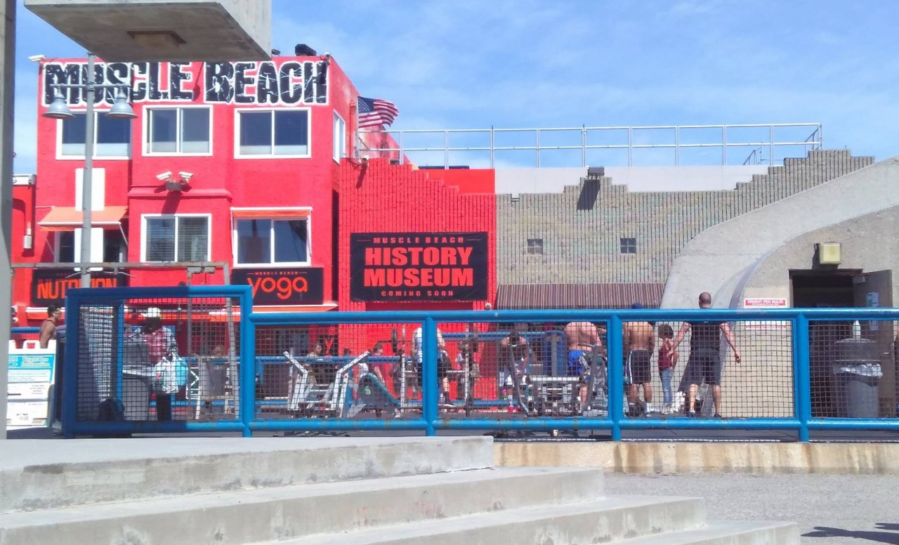 Los Angeles - Muscle Beach