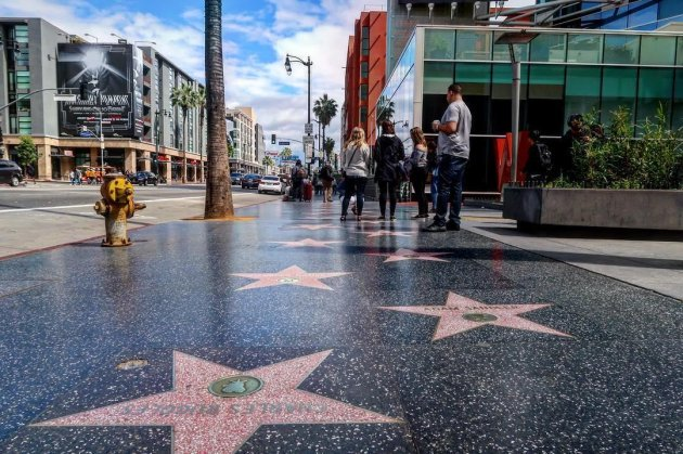 Los Angeles - Walk of Stars