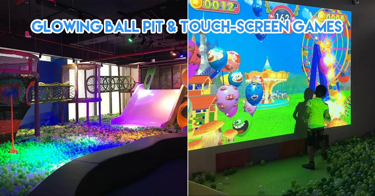 7 Indoor Play Areas At Malls In Singapore To Drop Your Kids