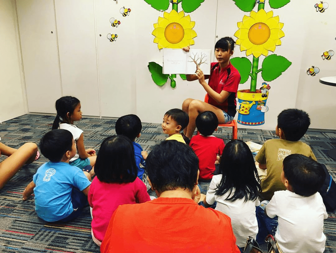 singapore public library storytelling sessions