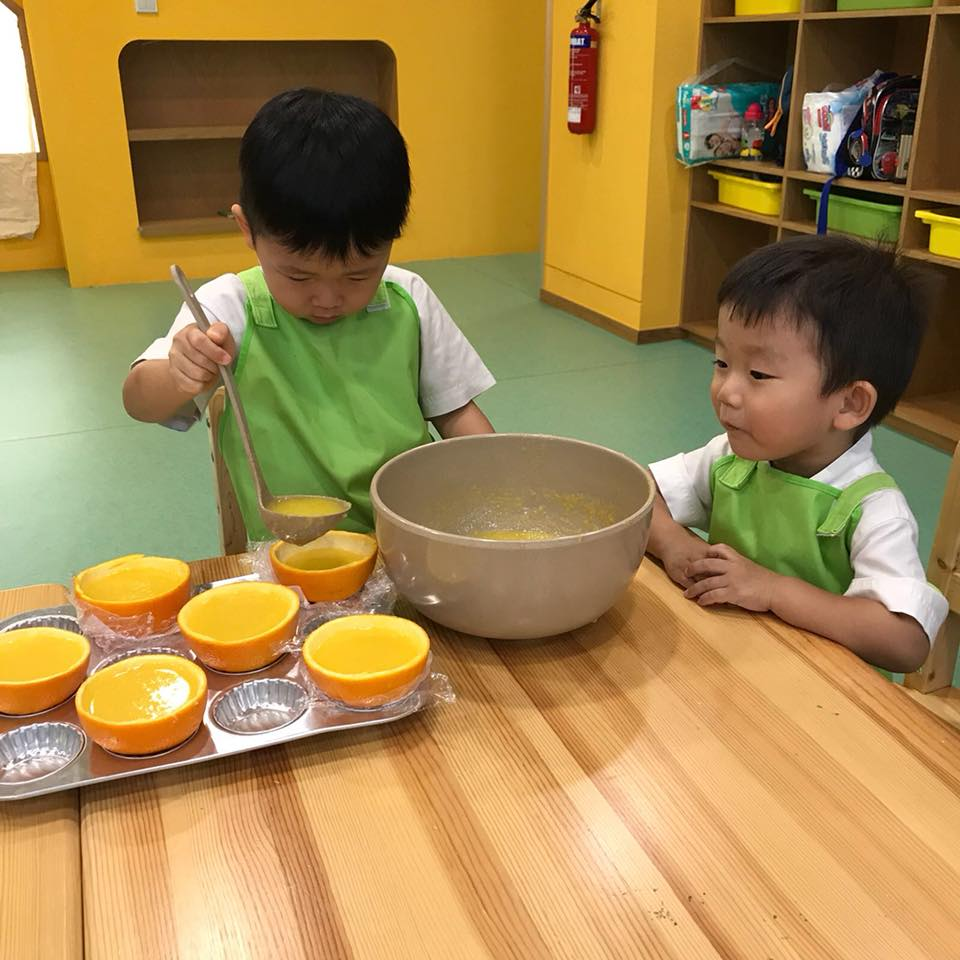 Mahota Preschool cooking