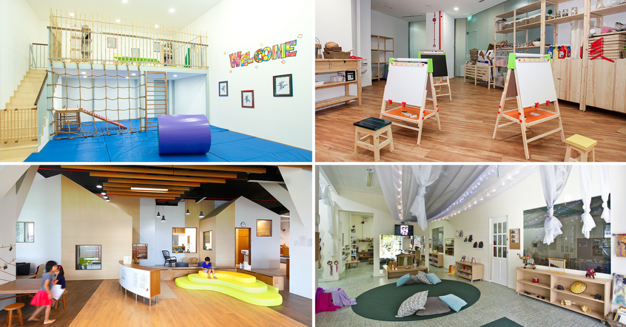 Highly-rated pre-schools in Singapore