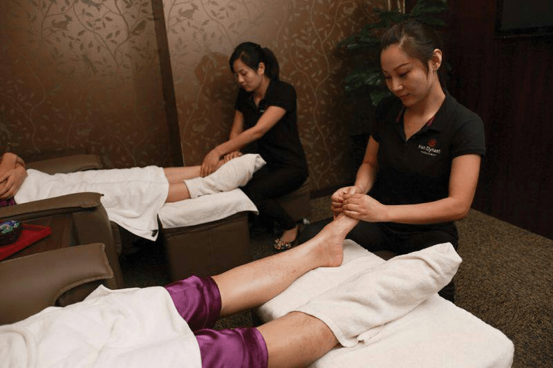 tang dynasty spa - massage