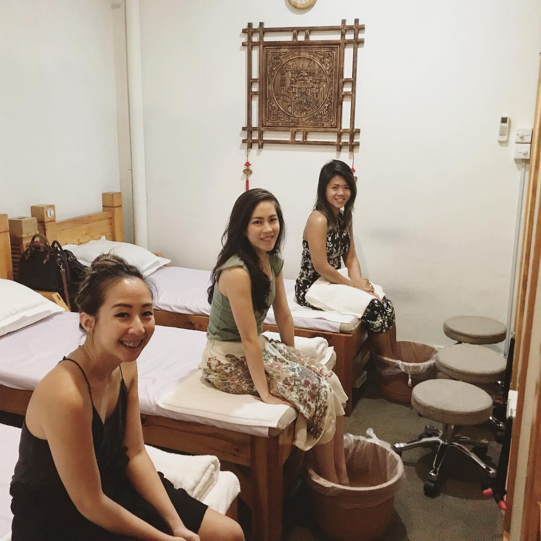 Hot Stone and Gua Sha therapy