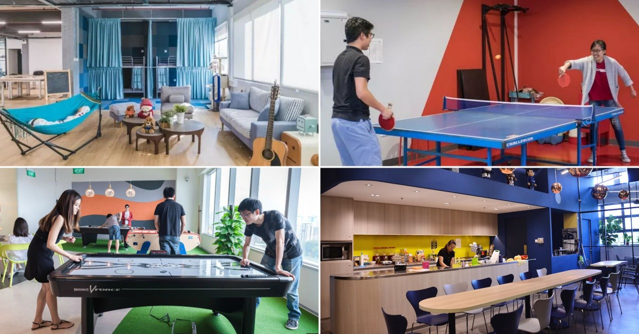 15 Singapore Internships At Successful Start-Ups In With Beautiful Offices