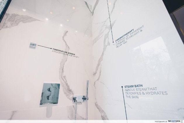 Different features of GROHE Spa's bathroom amenities