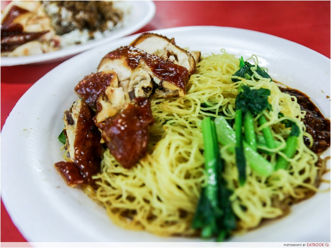 Liao Fan Hong Kong Soya Sauce Chicken Rice and Noodle