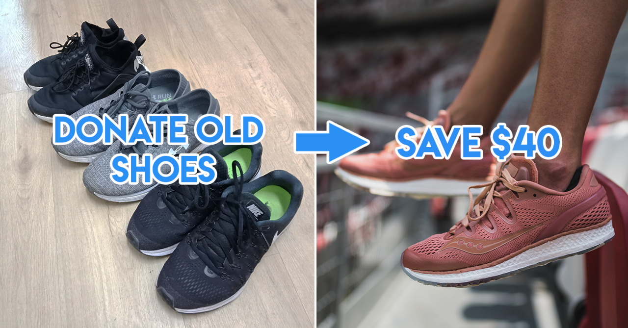Royal Sporting House - donate your old shoes