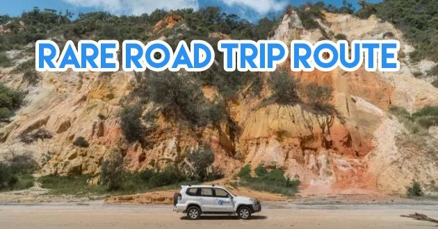 Great Beach Drive road trip Australia