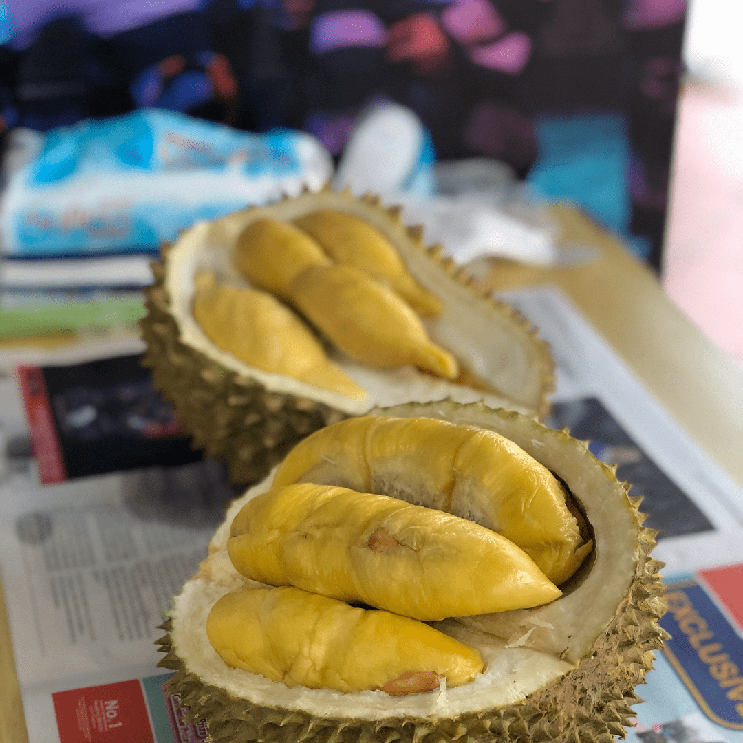 Durian smell in the fridge - baking soda